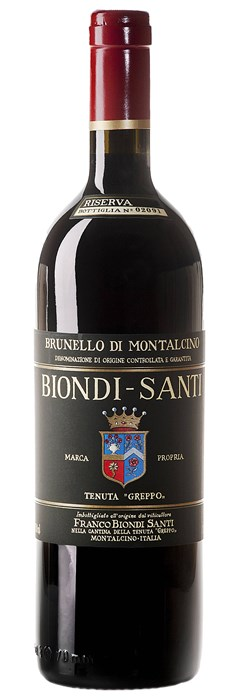 Biondi Santi Brunello di Montalcino Riserva 2011