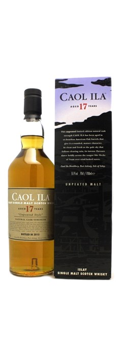 Caol Ila 17 ans Unpeated Islay Single Malt