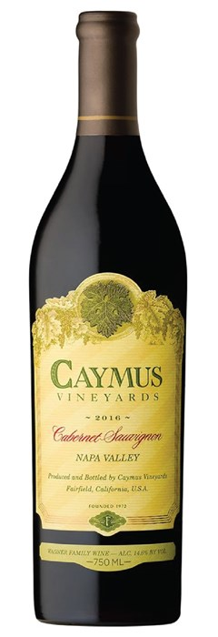 Caymus Vineyards Napa Cabernet Sauvignon 2018