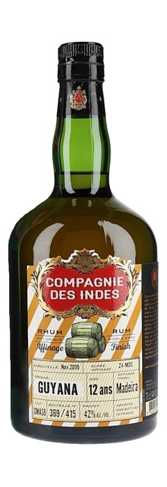 Compagnie des Indes Guyana 12 ans Madeira