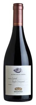 Errazuriz Aconcagua Costa Single Vineyard Syrah 2012
