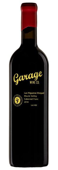 Garage Wine Co Cabernet Franc Lot 82 2016