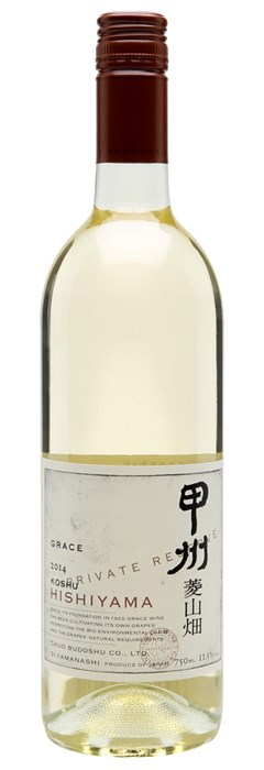 Grace Winery Koshu Private Reserve Hishiyama 2018