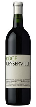 Ridge Vineyards Geyserville 2016