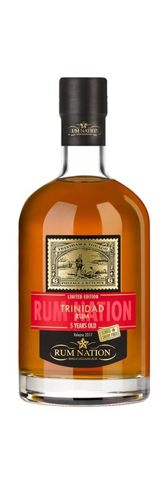 Rum Nation Trinidad 5 Years Old